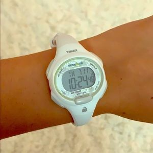 Timex Accessories - White timex watch